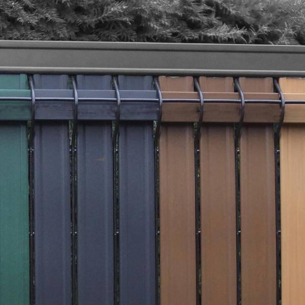 Screeno Line 3D + Bekafix Ultra - Metal mesh fence panel