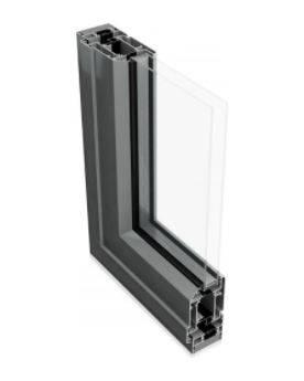 AluK 58BD Thermally Broken Residential Entrance Door System