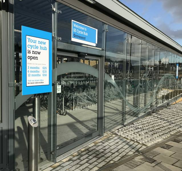 Fast Access for Cyclists