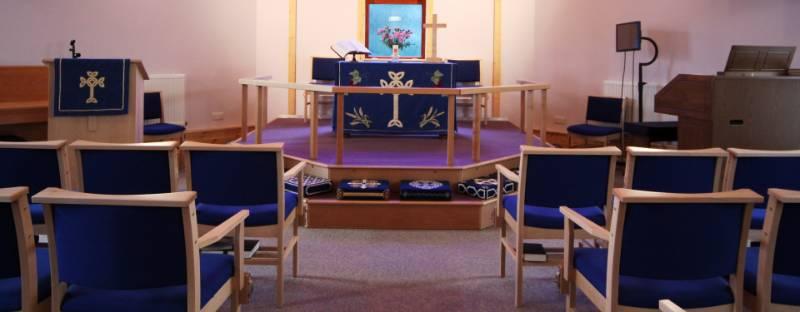 Disley Methodist Church Bespoke Staging
