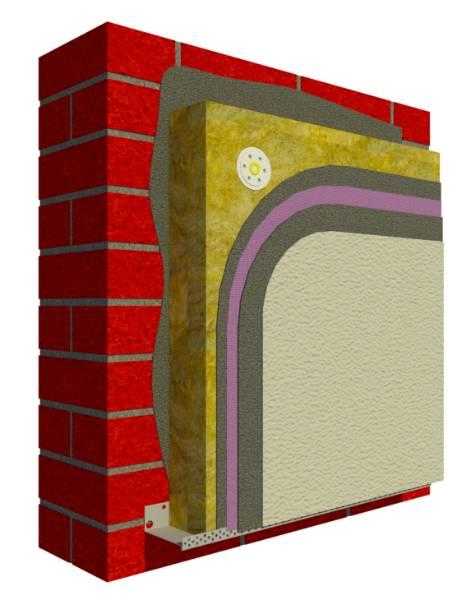 webertherm XM FMR024 External Wall Insulation