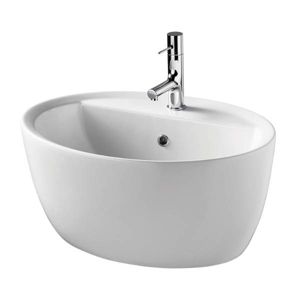 Cannobino 64 cm Vessel Washbasin, One Tap Hole