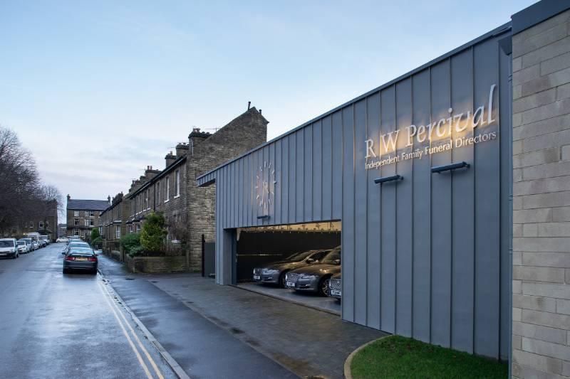 Two Rundum Original doors deliver specialist vehicle access at Belfield House