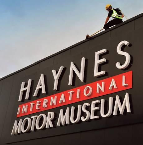 Haynes International Motor Museum: Fall Protection Solution