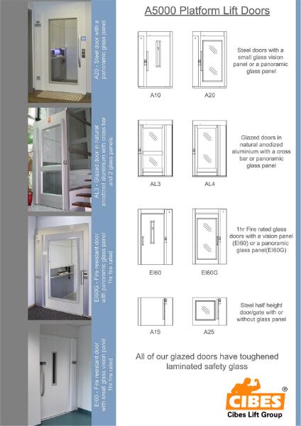 A5000 Door options