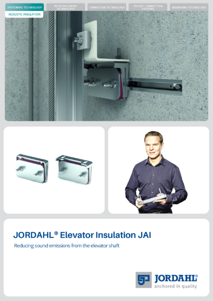 JORDAHL Acoustic Elevator Insulation JAI