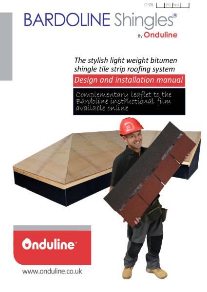 Onduline Tile-Strip Shingle Roofing System