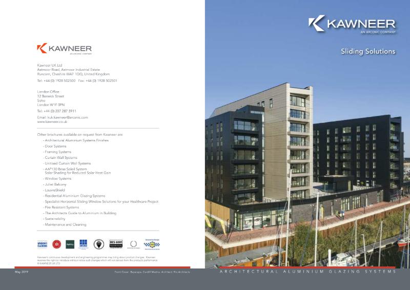 Kawneer Sliding Solutions Brochure