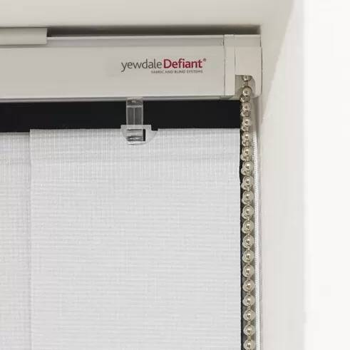 YewdaleDefiant® VL30 premium vertical blind with chain and cord mechanism
