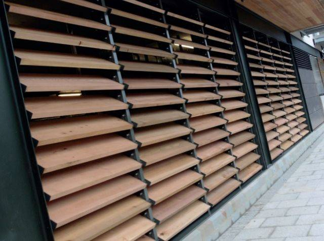 Medera™ Timber Louvres