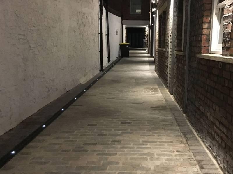 ACO lights up historic Bristol development with an eye-opening installation