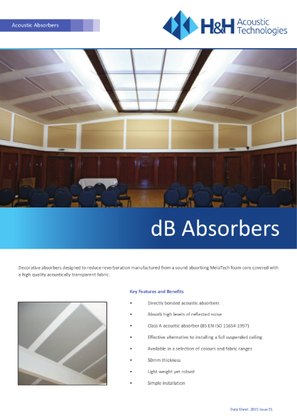 Acoustic Ceiling dB Absorbers