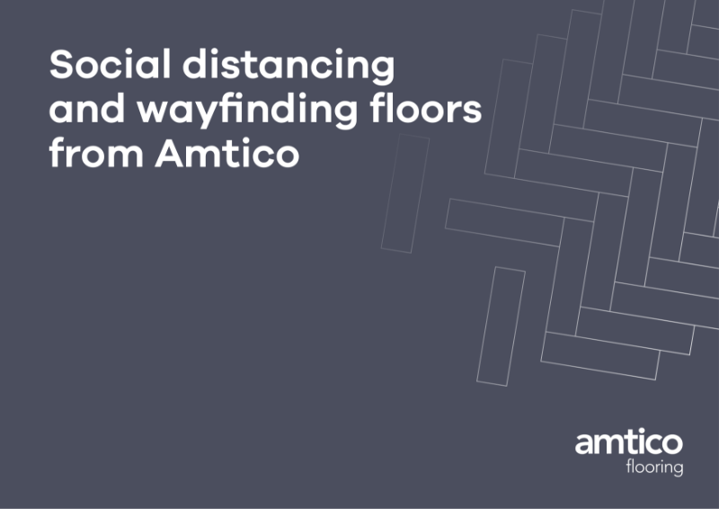 Social Distancing and Wayfinding Floors