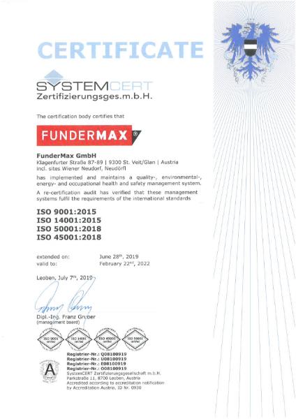 ISO 9001 ISO 14001 ISO 50001 ISO 45001