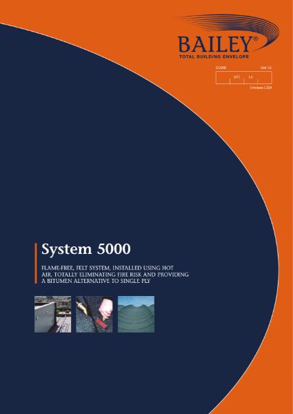 System 5000: A Bitumen Alternative to Single Ply