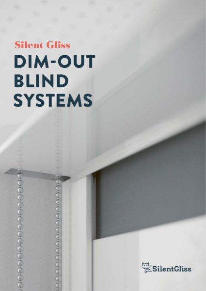 Dim-out Blinds Brochure by Silent Gliss