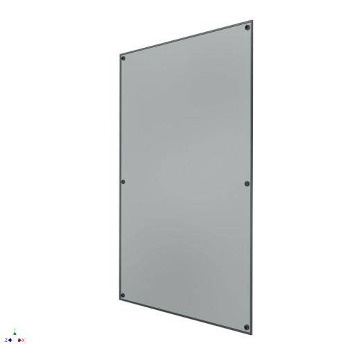 Pilkington Planar Insulated Glass Unit - Optiwhite 10 mm; Air 16 mm; Optiwhite 6 mm; Interlayer 1.52 mm; Optiwhite 6 mm