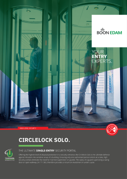 Circlelock High Security Interlocking Door