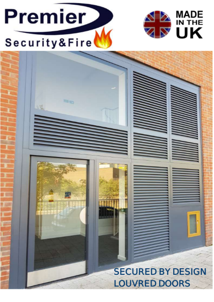 SECURED BY DESIGN LOUVRE DOORS