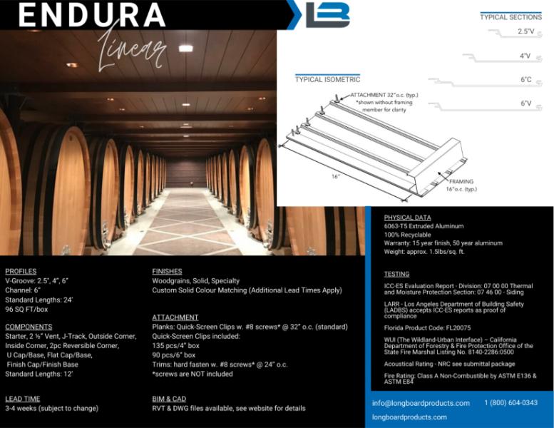 Longboard Endura Linear