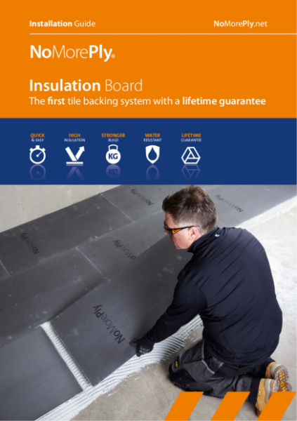 NoMorePly Insulation Board - Installation Guide