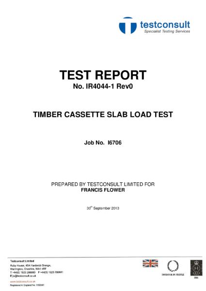 Load Test Data