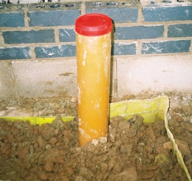 Visqueen Plastics Depressurization Sump