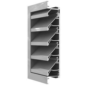 System 23 Aluminium Louvres