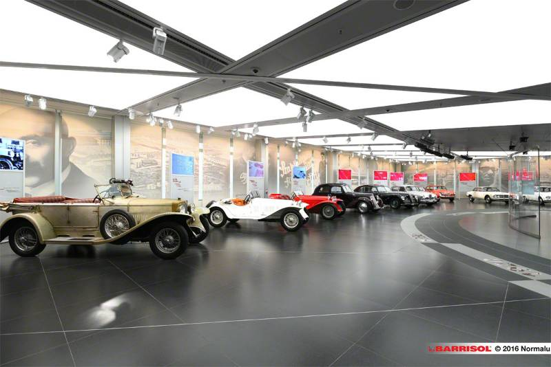 Barrisol Light® - Alfa Romeo Historical Museum - Italy