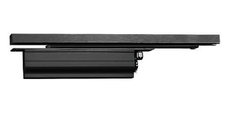 StarTec DCL33 Concealed Single Action Closer EN 2-4 (1100 mm) Hafele Black (HUKP-0504-02)
