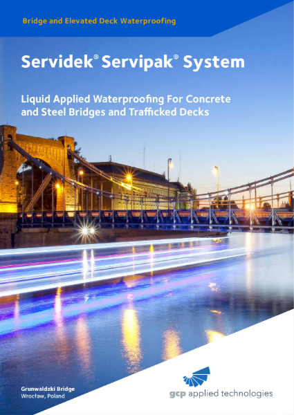 Servidek® Servipak® System - Liquid Applied Waterproofing For Concrete & Steel Bridges and Trafficked Decks