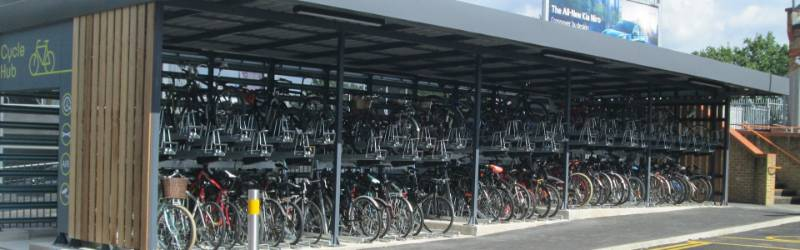 South West Trains Cycle Hubs
