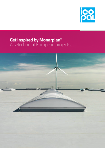 Icopal Monarplan PVC Single Ply Roof Membrane Case Studies