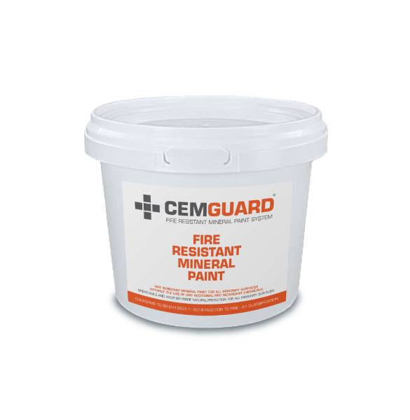 CEMGUARD fire resistant mineral paint