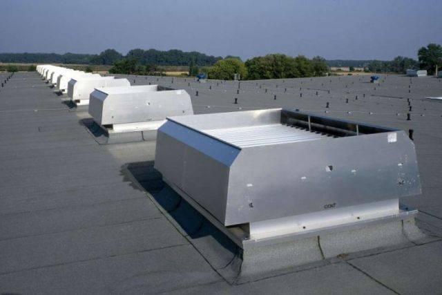 WCO natural ventilator for weathered ventilation