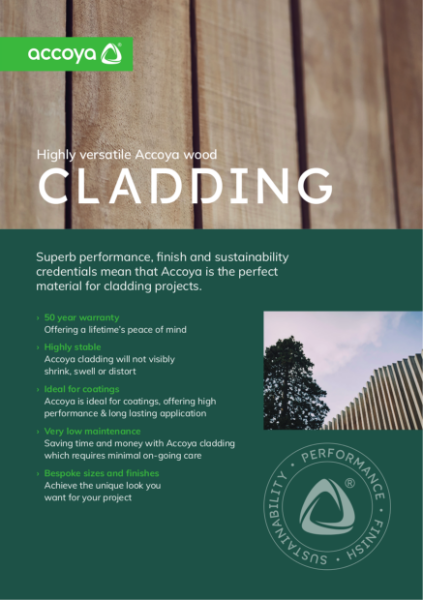 Accoya - Benefits of Cladding