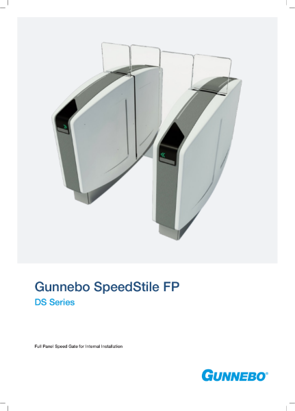 Speed Gate - SpeedStile FP DS Series