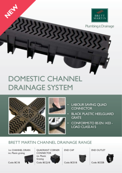 Domestic Channel Drainage System