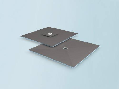 wedi Fundo Ligno floor element, offset drain