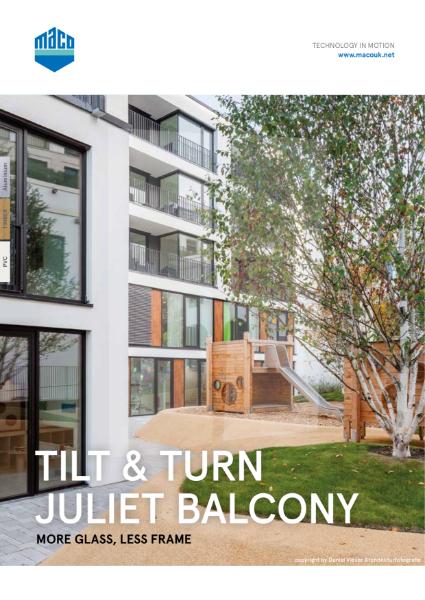 Tilt & Turn Juliet Balcony