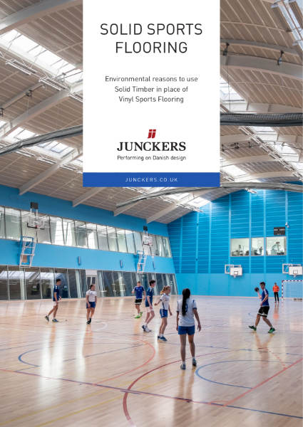 Junckers Solid Timber vs. Vinyl Sports Floors