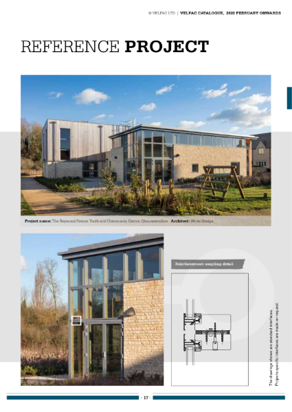 VELFAC Composite Window Reference projects