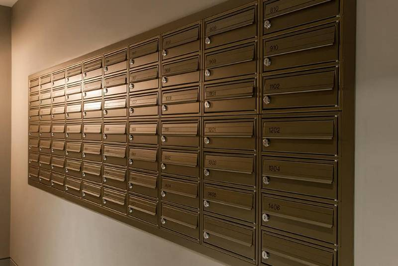 London City Island - Wall Recessed Mailboxes & Fire Rated Mailboxes