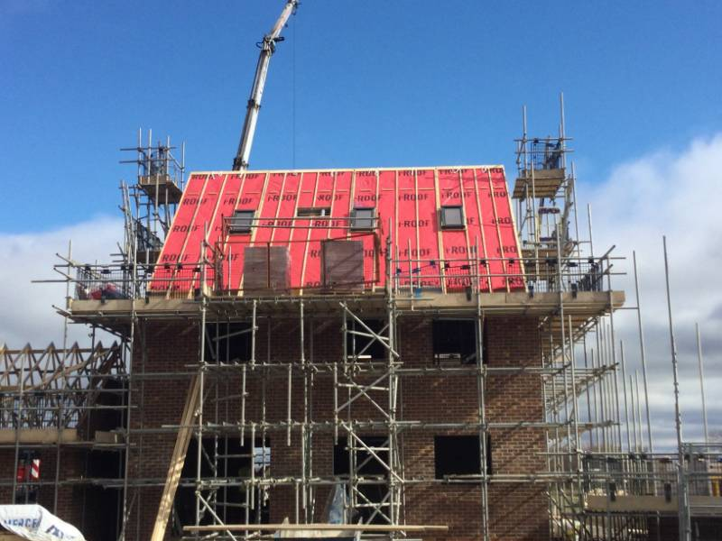 Roofspace upgrades its i-Roof Specification to ARC's complete firestopping solution