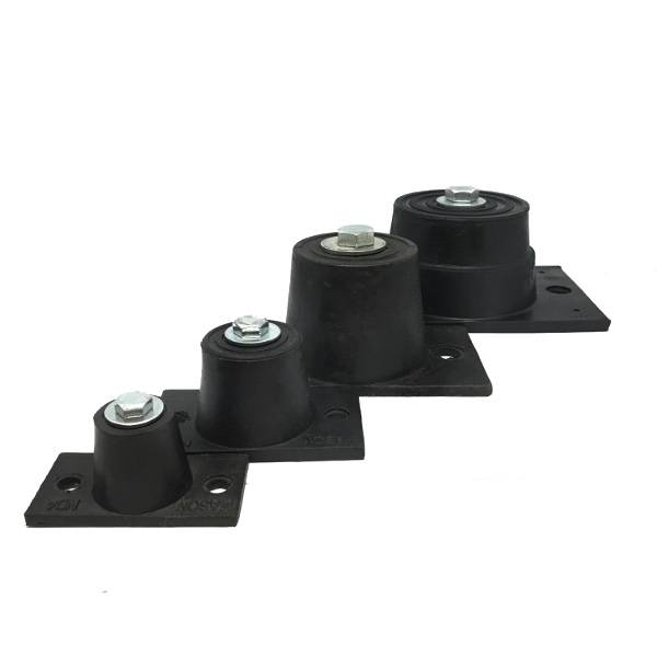 ND – Double Deflection Rubber Mounts