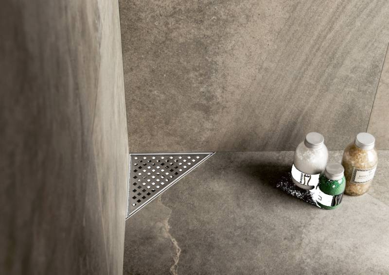 Aqua Plus Delta - Shower drain