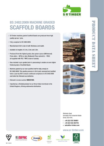 Scaffold Board Data Sheet