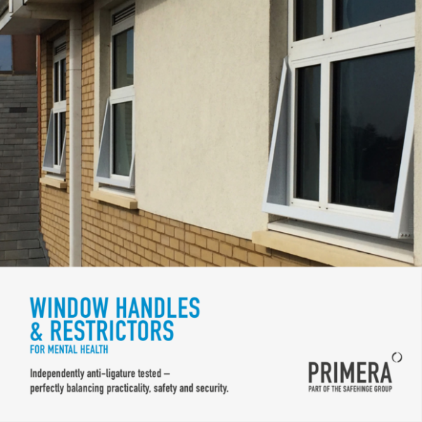 Window Handles & Restrictors for Mental Health brochure