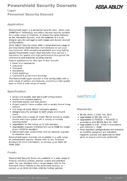 Personnel Security - Powershield Security Doorsets