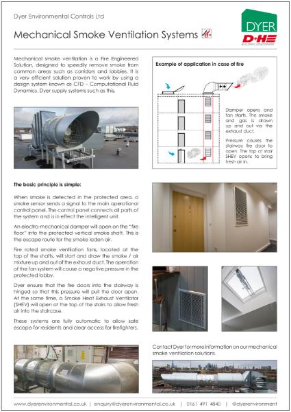 Mechanical Smoke Ventilation Solutions
